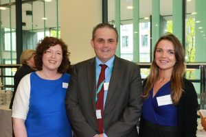23-05-2016 - NEWS - Images from THE LAUNCH OF THE NURTURE PROGRAMME - INFANT HEALTH & WELLBEING. Pictured was Julie Cahill, Eifion Williams and Sara McQuinn.  Picture Nick Bradshaw